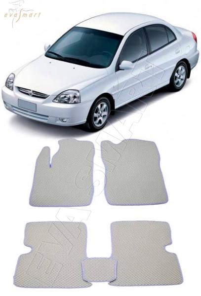 KiaRio I 2000 - 2005 Автоковрики 'EVA Smart'