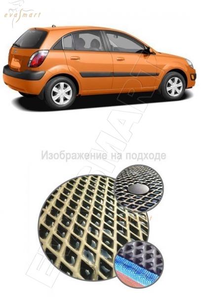 Kia Rio II коврик в багажник хэтчбек 5дв 2005 - 2011 EVA Smart