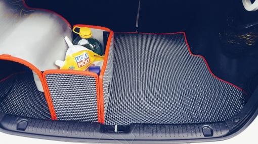 Kia Rio III 2011 - 2017 коврик в багажник седан EVA Smart