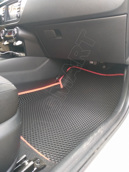 Kia Rio X (X-line) вариант макси 3d 2017 - н.в. коврики EVA Smart