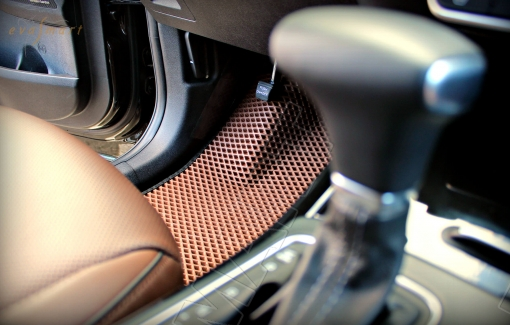 Kia Sorento III Prime 7 мест 2014 - н.в. коврики EVA Smart