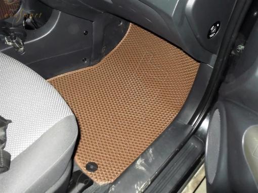 Kia Sportage II 2004 - 2008 коврики EVA Smart