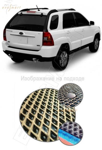 Kia Sportage II коврик в багажник 2004 - 2010 EVA Smart