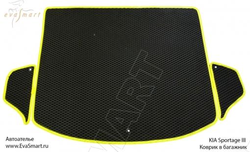 Коврик багажника EVA Smart для Kia Sportage III 2010 -
