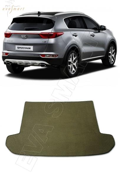KiaSportage IV багажник 2015 - Автоковрики 'EVA Smart'