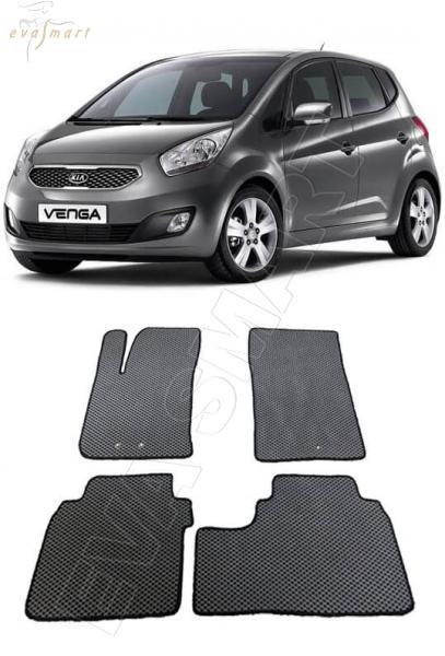 Kia Venga 2010 - 2017 коврики EVA Smart