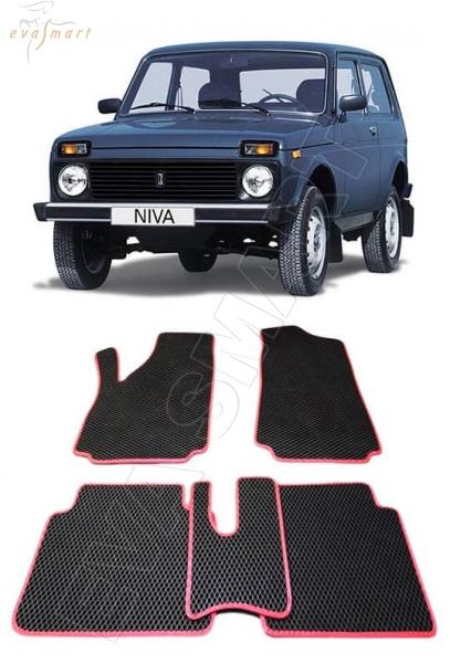 Lada Niva 2121 Автоковрики 'EVA Smart'