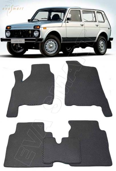 ВАЗ-2131 Лада 4x4 5D Нива 1995 - 2009 коврики EVA Smart