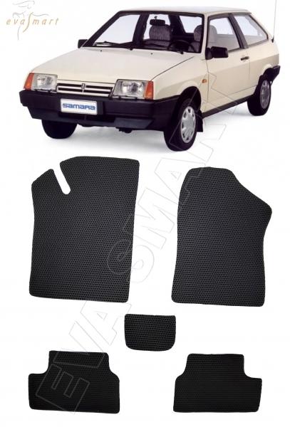 ВАЗ-2108 Лада Самара 1984 - 2013 коврики EVA Smart