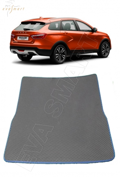 Lada Vesta вариант макси 3D 2015 - н.в. коврики EVA Smart