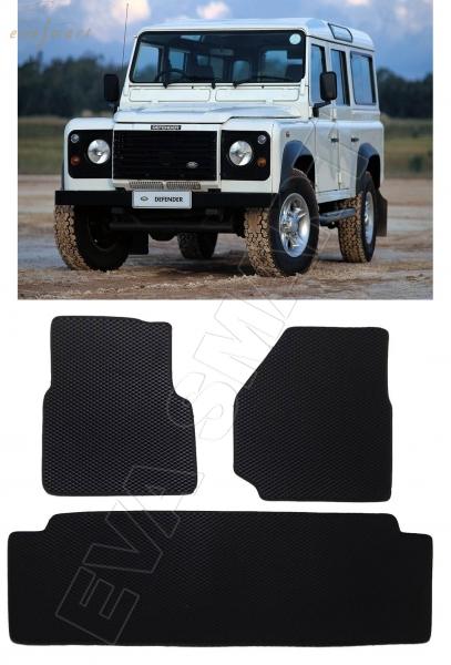 Land Rover Defender 5дв 1983 - 2016 коврики EVA Smart