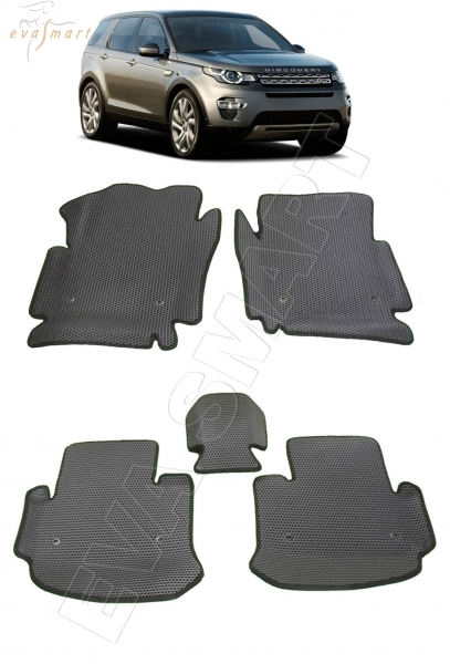 Land Rover Discovery Sport вариант макси 3d 2014 - н. в. Автоковрики 'EVA Smart'
