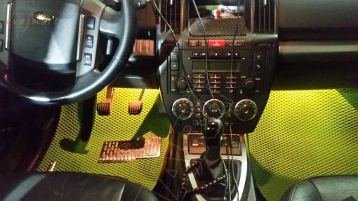 Land Rover Freelander II 2006 - 2012 Автоковрики 'EVA Smart'