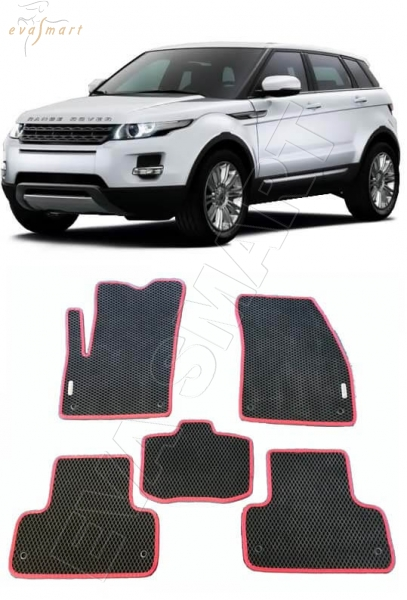 Land Rover Range Rover Evogue 5дв 2011 - н.в. коврики EVA Smart