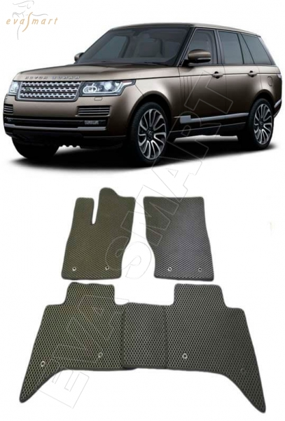 Land Rover Range Rover IV 2012 - н.в. коврики EVA Smart
