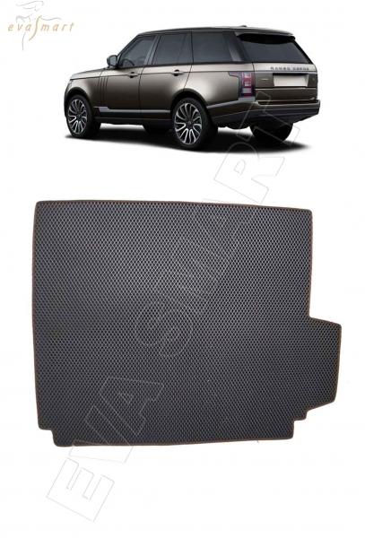 Land Rover Range Rover IV багажник 2012 - н.в. коврики EVA Smart