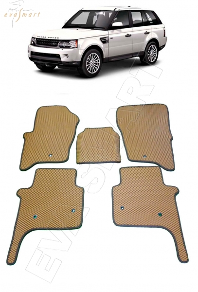 Land Rover Range Rover Sport I 2005 - 2013 Автоковрики 'EVA Smart'