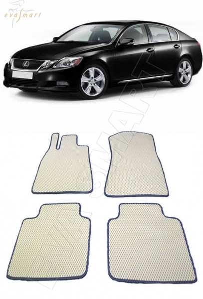 Lexus GS III 2004 - 2007 коврики EVA Smart