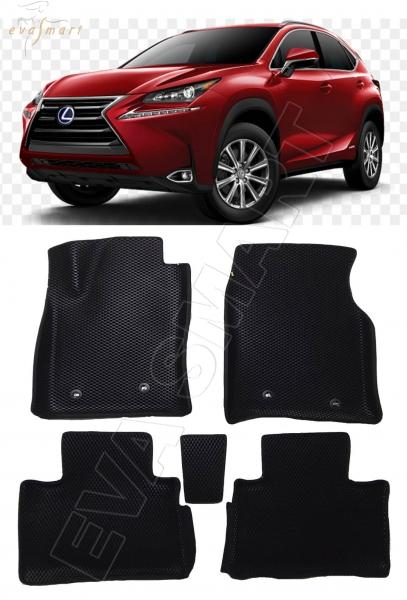 Lexus NX вариант макси 3d 2014 - н.в. коврики EVA Smart