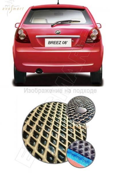Lifan Breez (520) хетчбек 2007 - 2014 Коврик багажника EVA Smart