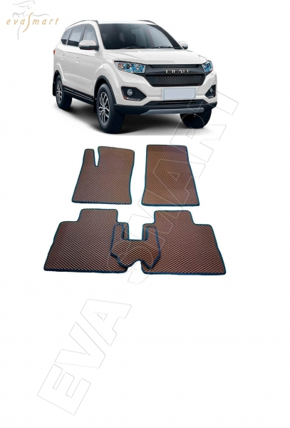 Lifan Myway 5мест 2016 - н. в. Автоковрики 'EVA Smart'