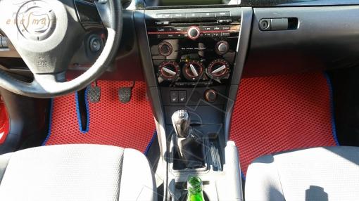 Mazda 3 (BK) хэтчбек 2003 - 2009 коврики EVA Smart