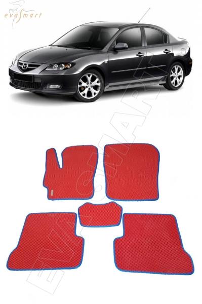 Mazda 3 (BK) 2003 - 2009 Автоковрики 'EVA Smart'
