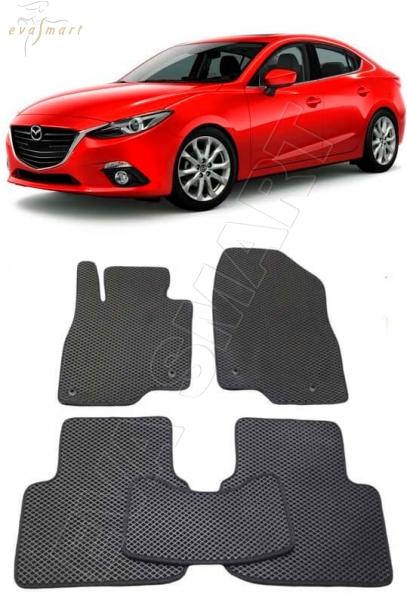 Mazda 3 (BM) 2013 - 2015 Автоковрики 'EVA Smart'