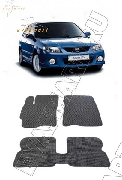 Mazda 323 VI (BJ) Рестайлинг 2000 - 2003 коврики EVA Smart