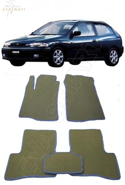 Mazda 323 V (C) 3дв 1994 - 1998 Автоковрики 'EVA Smart'