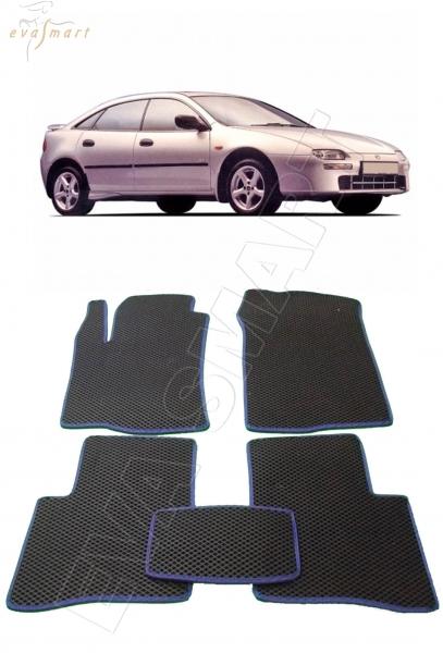 Mazda 323 V (BA) хэтчбек 1994 - 2000 Автоковрики 'EVA Smart'