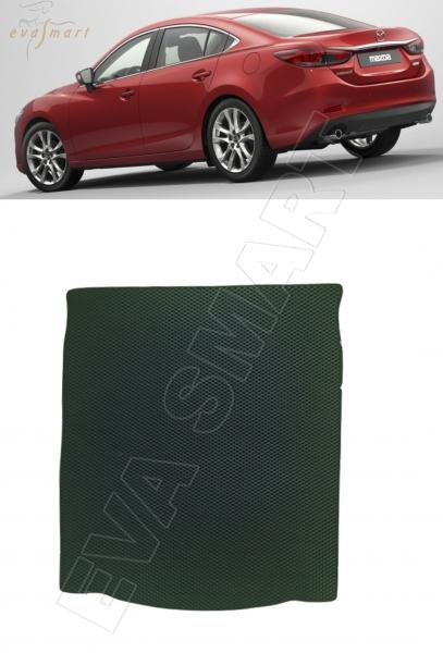 Mazda 6 III (GJ) 2012 - н.в. коврик в багажник EVA Smart