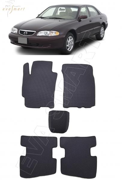 Mazda 626 (GE) 1991 - 1997 коврики EVA Smart