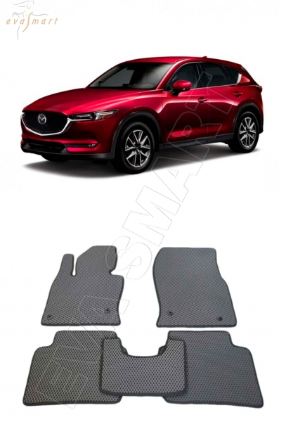 Mazda CX-5 II 2017 - н.в. коврики EVA Smart