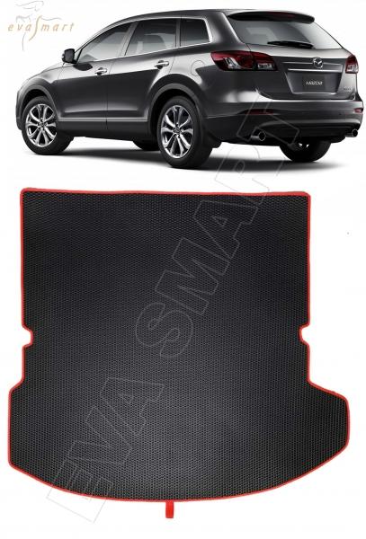 Mazda CX-9 I коврик в багажник 7 мест 2006 - 2016 EVA Smart