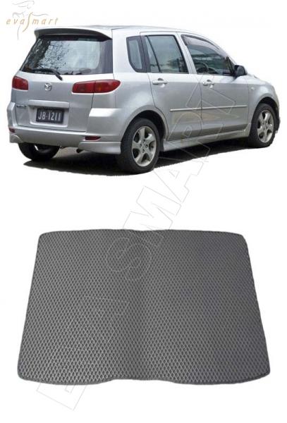 Mazda Demio II (DY) правый руль коврик в багажник 2002 - 2007 EVA Smart
