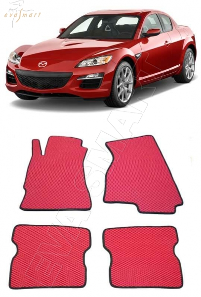 Mazda RX-8 2003-2011 Автоковрики 'EVA Smart'