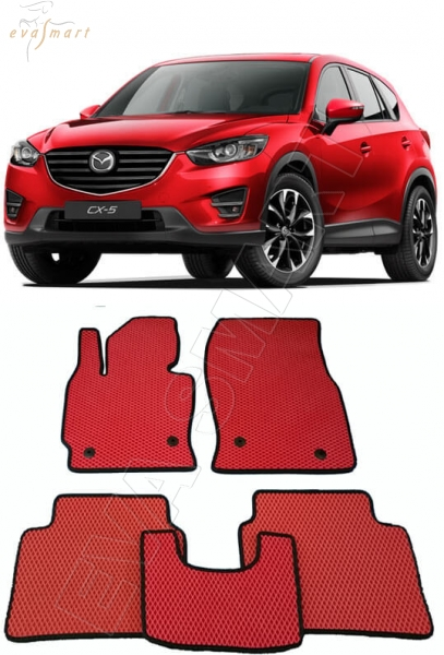 Mazda CX-5 2011 - 2017 коврики EVA Smart