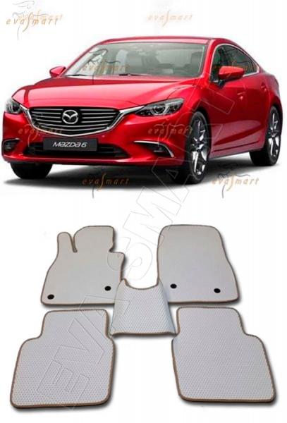 Mazda 6 III (GJ) рестайлинг 2015 - н. в. Автоковрики 'EVA Smart'