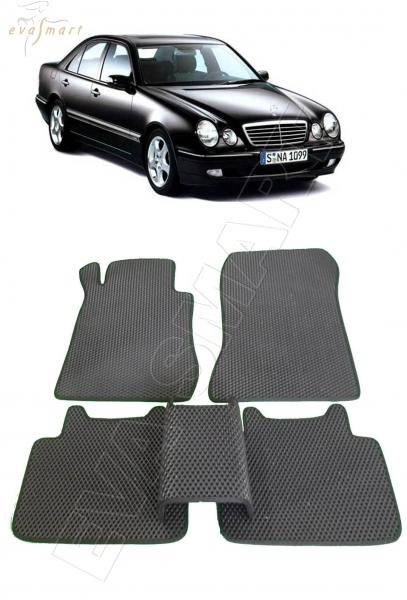 Mercedes-Benz Е-класс II (W210) 1995 - 2003 коврики EVA Smart