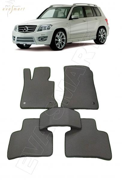Mercedes-Benz GLK (Х204) 2008 - 2015 Автоковрики 'EVA Smart'