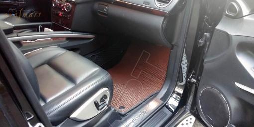 Mercedes-Benz M-klasse II (W164) 2005 - 2011 коврики EVA Smart