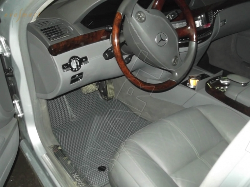 Mercedes-Benz S-класс V (W221) long 2005 - 2013 коврики EVA Smart