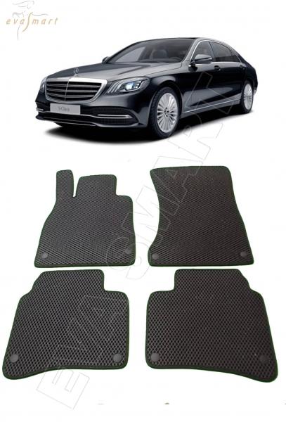 Mercedes-Benz S-класс VI (W222) 2013 - н. в. Автоковрики 'EVA Smart'
