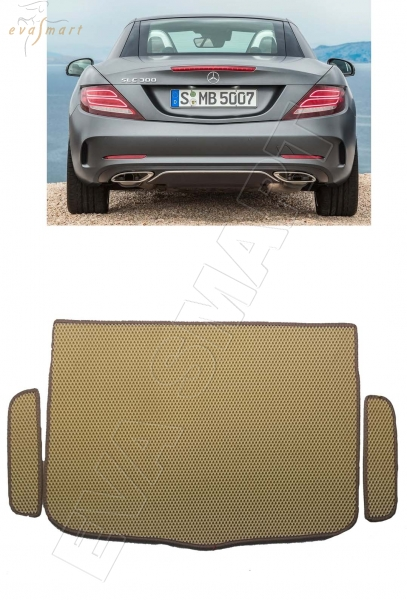 Mercedes-Benz SLC-класс (R172) 2016 - н.в. коврики EVA Smart