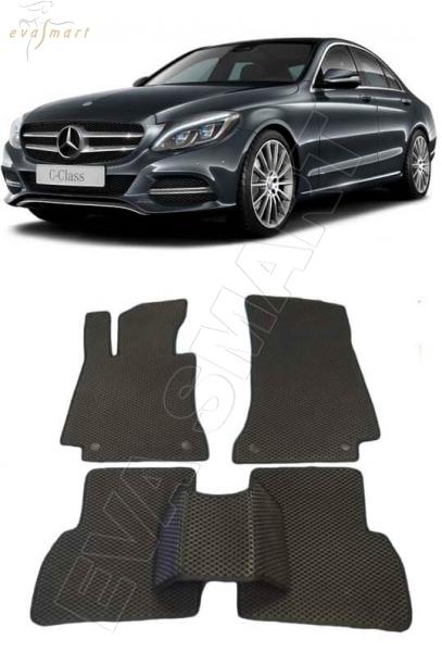 Mercedes-Benz С-класс (W205) 2015 - н. в. Автоковрики 'EVA Smart'