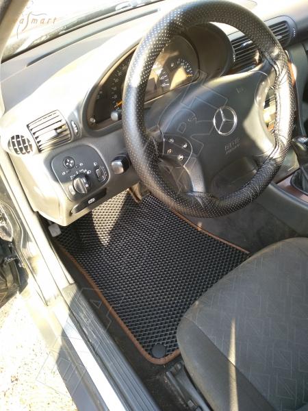 Mercedes-Benz С-класс (W203) 2000 - 2007 коврики EVA Smart