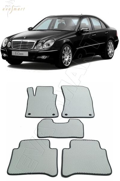 Mercedes-Benz E-класс III ( W211) 2002 - 2009 Автоковрики 'EVA Smart'