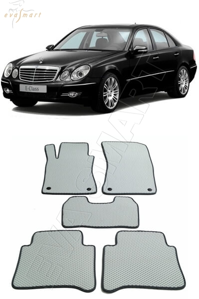 Mercedes-Benz Е-класс III ( W211) 4 matic 2002 - 2009 коврики EVA Smart