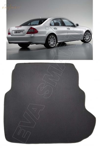 Mercedes-Benz Е-класс III (W211) 4 matic коврик в багажник 2002 - 2009 EVA Smart